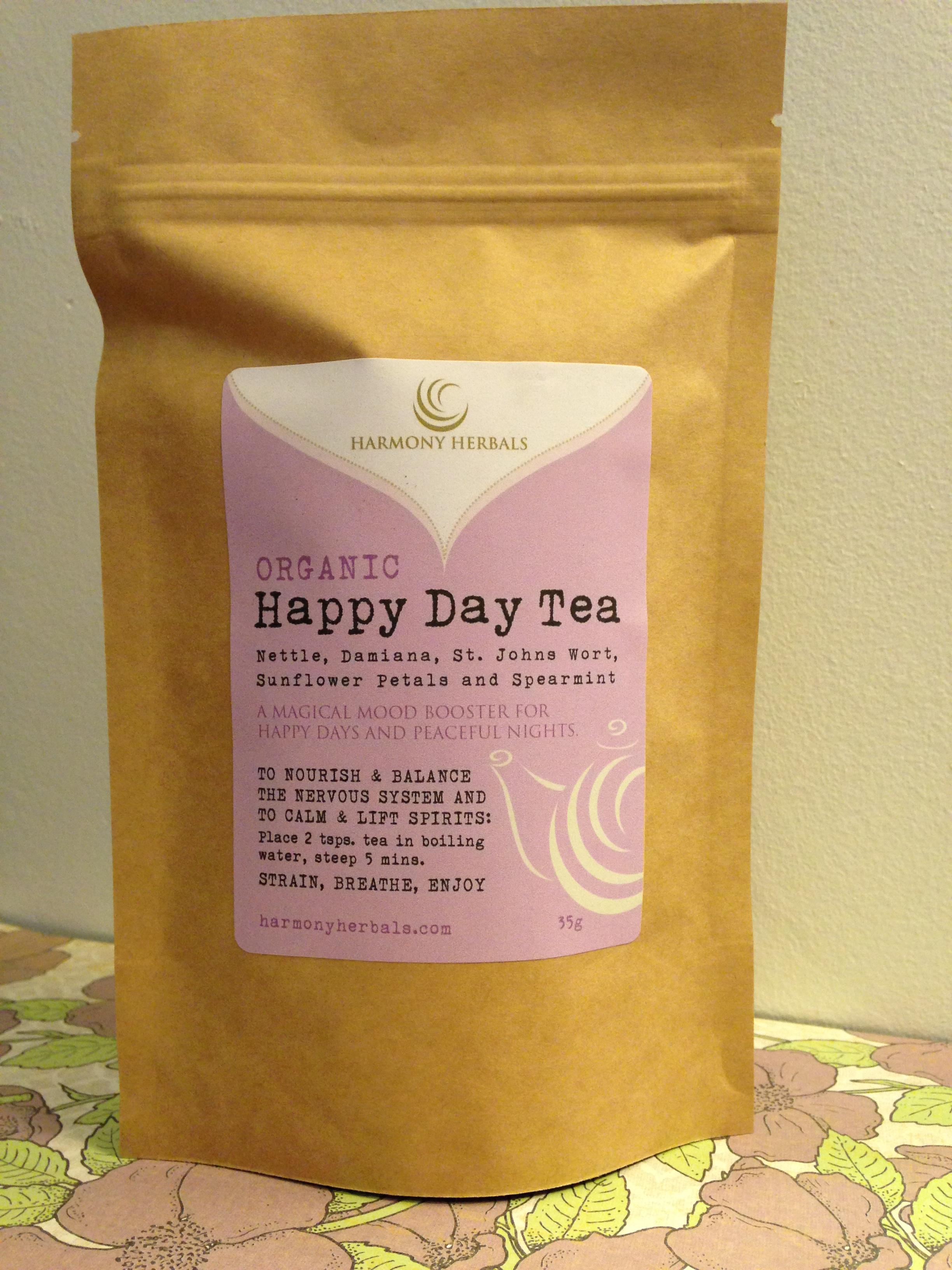 happy day tea harmony herbalshappy day tea